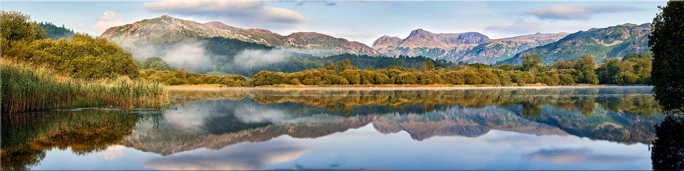 Elterwater Tranquility - Canvas Prints