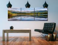 Elterwater Serene Morning - 3 Panel Canvas on Wall