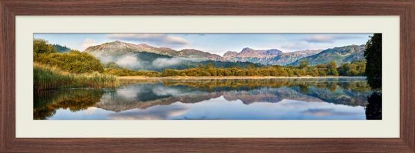 Elterwater Tranquility - Framed Print with Mount