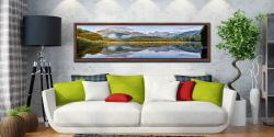Elterwater Tranquility - Walnut floater frame with acrylic glazing on Wall