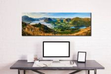 Low Fell Panorama - Canvas Print on wall
