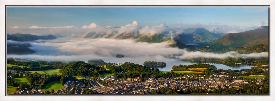 Derwent Water Cloud Inversion - Modern Print