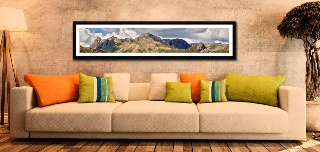 Langdales Pavey Ark Panorama 6:1