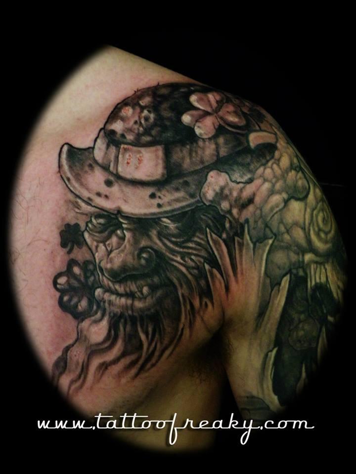 Irish Tattoo Lepricorn