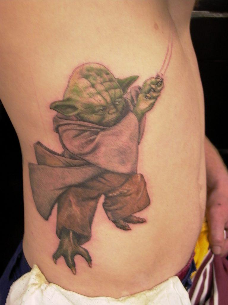 yoda tattoo Tauranga New Zealand