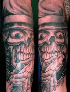 cut throat tattoo new zealand