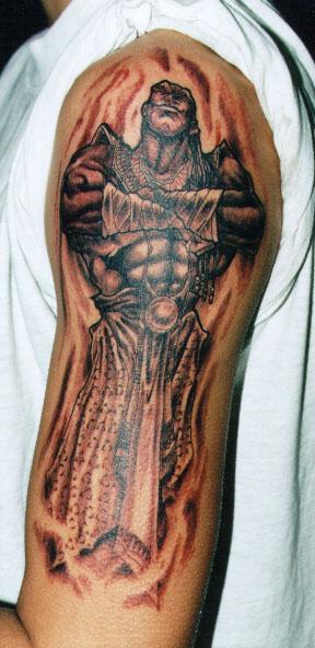 genie tattoo Tauranga New Zealand