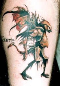 brian froud tattoo Tauranga New Zealand