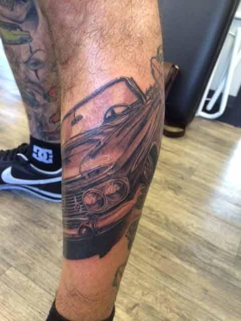 Low rider Tattoos Tauranga New ZEaland