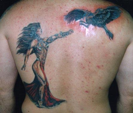 julie moon tattoo Tauranga New Zealand