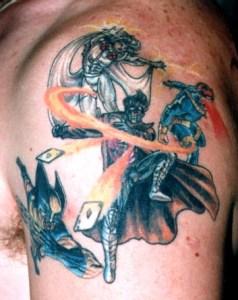 x men tattoo Tauranga New Zealand