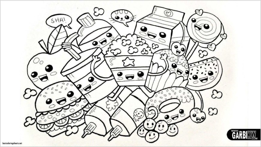 100th Day Of School Coloring Pages 100th Day Of School Coloring Pages Unique Kawaii Coloring Pages 91