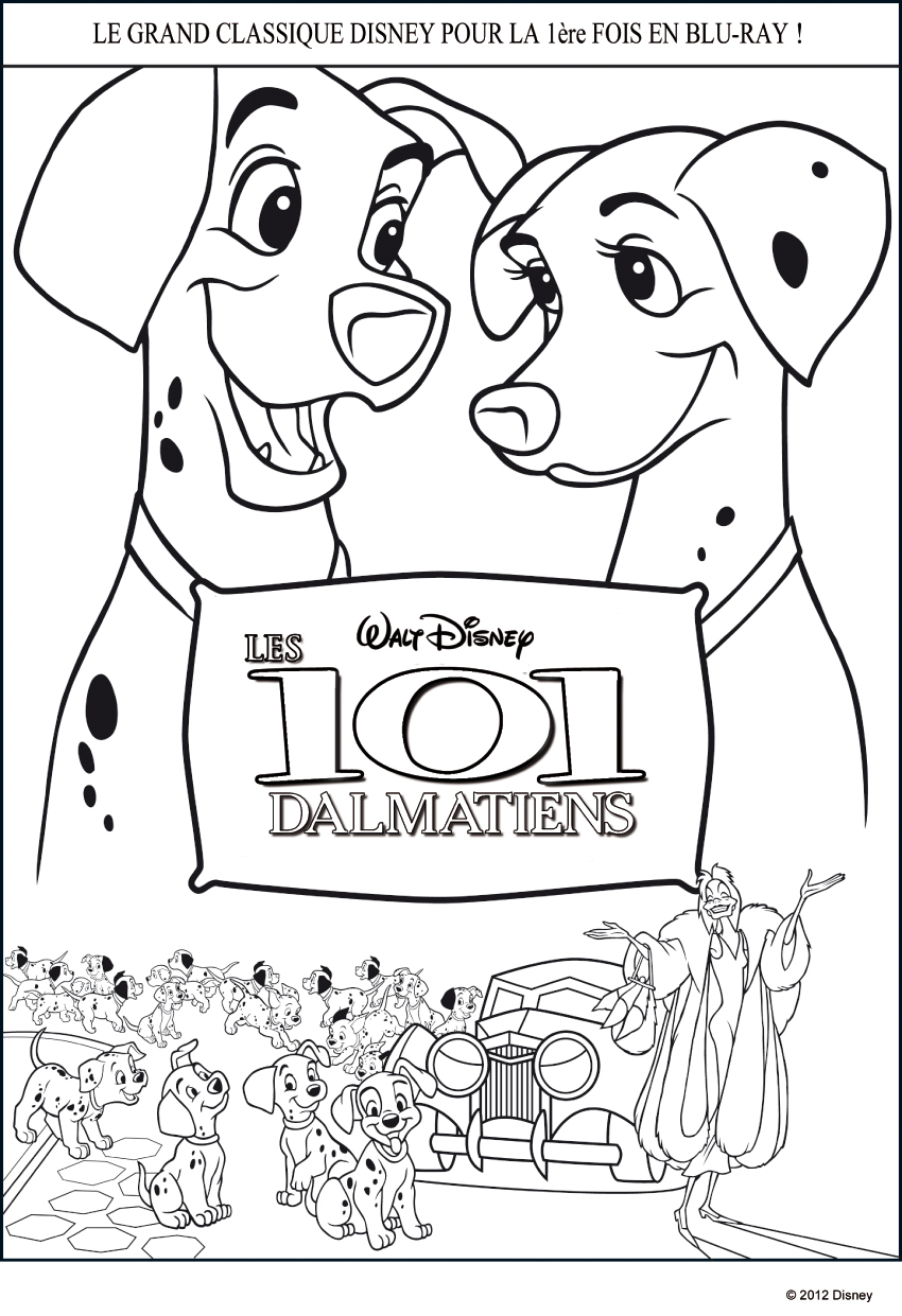 101 Dalmatians Coloring Pages 101 Dalmatians To Print For Free 101 Dalmatians Kids Coloring Pages