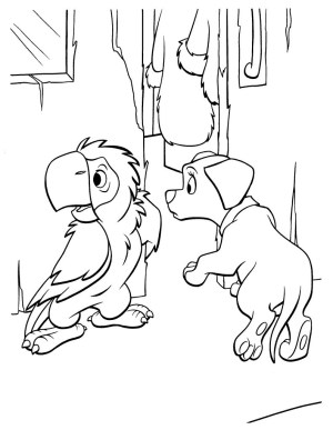 101 Dalmatians Coloring Pages Awesome Dalmatian Page To Color Gallery Printable Coloring Sheet
