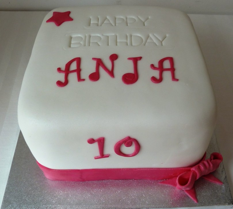 10Th Birthday Cake 10th Birthday Cake Wedding Birthday Cakes From Maureens Kitchen