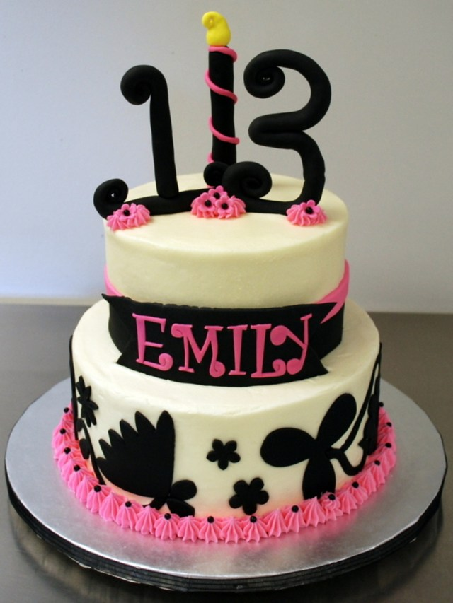 13 Birthday Cakes 13th Cake Cakecentral