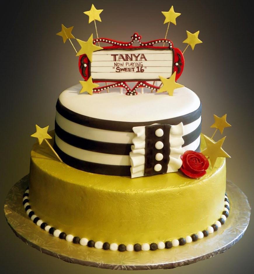 16Th Birthday Cake Ideas Sweet 16 Birthday Cake Sweet Somethings Desserts