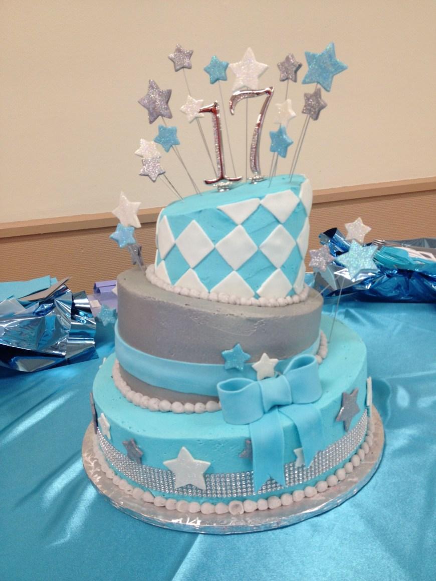 17 Birthday Cakes 17th Birthday Cake Cakes Pinterest 17 Birthday Cake Birthday
