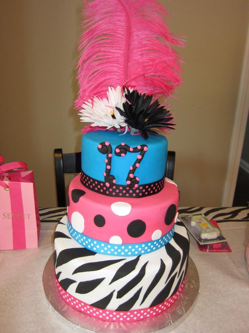 17 Birthday Cakes 17th Birthday Cakes
