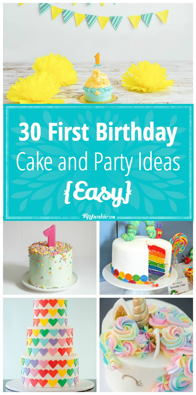 1St Birthday Cakes For Boys 30 First Birthday Cake And Party Ideas Easy Tip Junkie