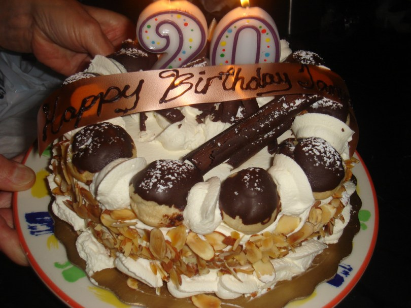 20Th Birthday Cake 20th Birthday Cake Italian Birthday Cake At Anduccis In C Flickr