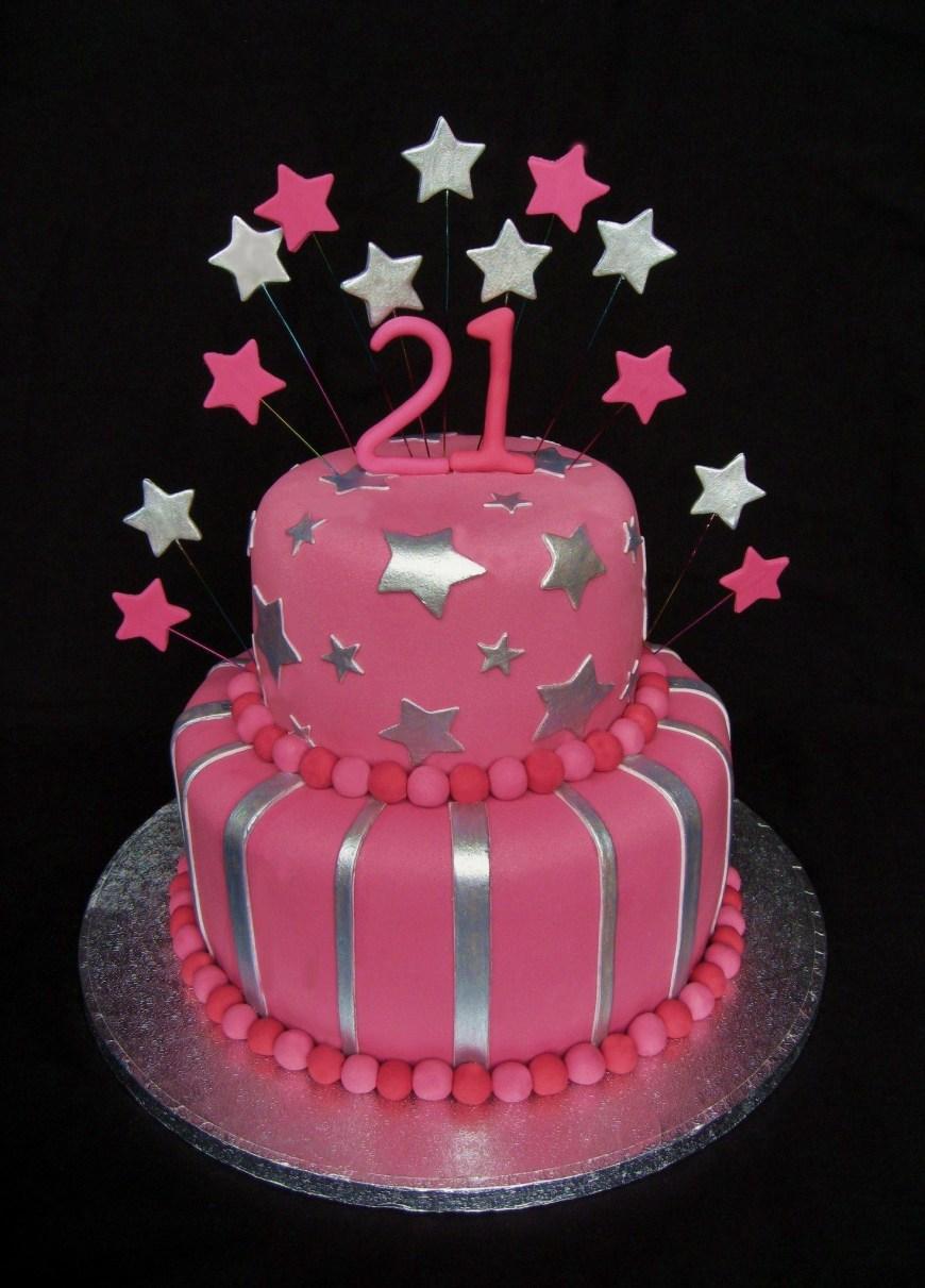 21St Birthday Cake Ideas 21st Birthday Cake Girls 21st Birthday Cake Cakes Pinterest