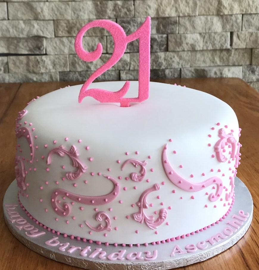 21St Birthday Cake Ideas 21st Birthday Cakes Mulberry Cakes And Cupcakes