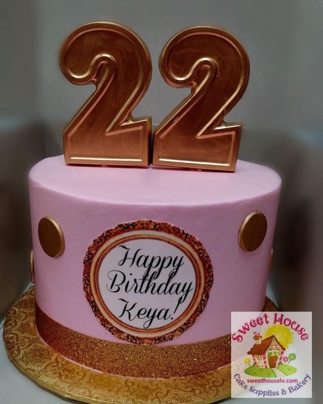 22 Birthday Cake Abc Cakes