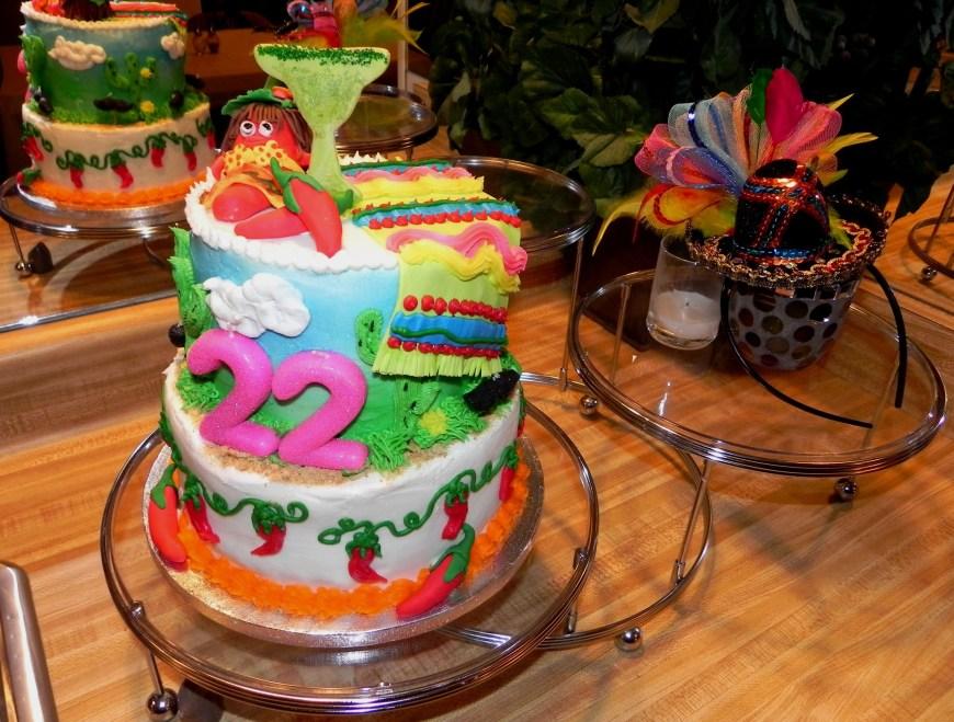 22 Birthday Cake My Daughters 22nd Birthday Cake Theme Fiesta Happy Birthday