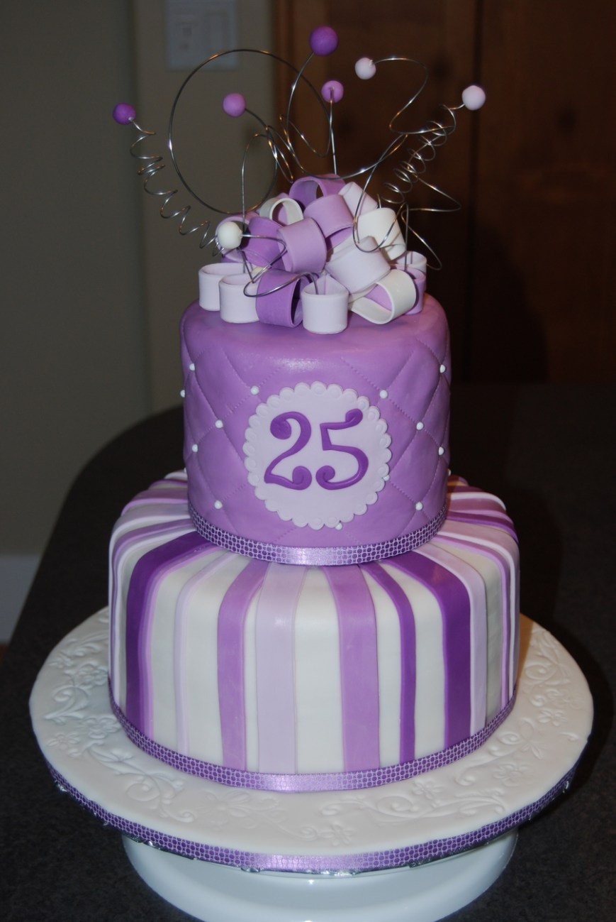 25Th Birthday Cake Ideas 25th Birthday Cake Cakecentral