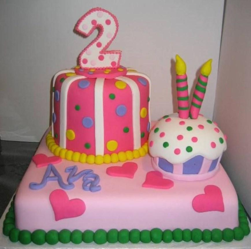 2Nd Birthday Cake Happy 2nd Birthday Ava Cakecentral