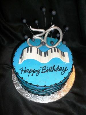 30Th Birthday Cake Ideas For Him 30th Birthday Cake Topper Protoblogr Design 30th Birthday Cakes