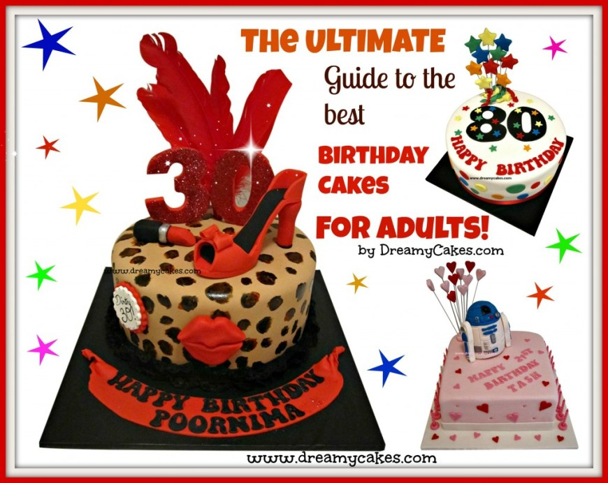 30Th Birthday Cake Ideas For Him The Ultimate Guide To The Best Birthday Cakes For Adults