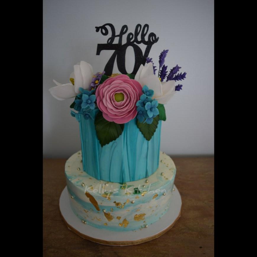 70Th Birthday Cake Ideas 70th Birthday Cake Cakecentral