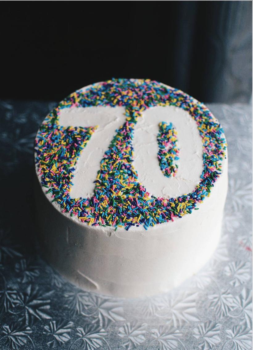 70Th Birthday Cake Ideas 70th Birthday Cake Crumbs And Tea