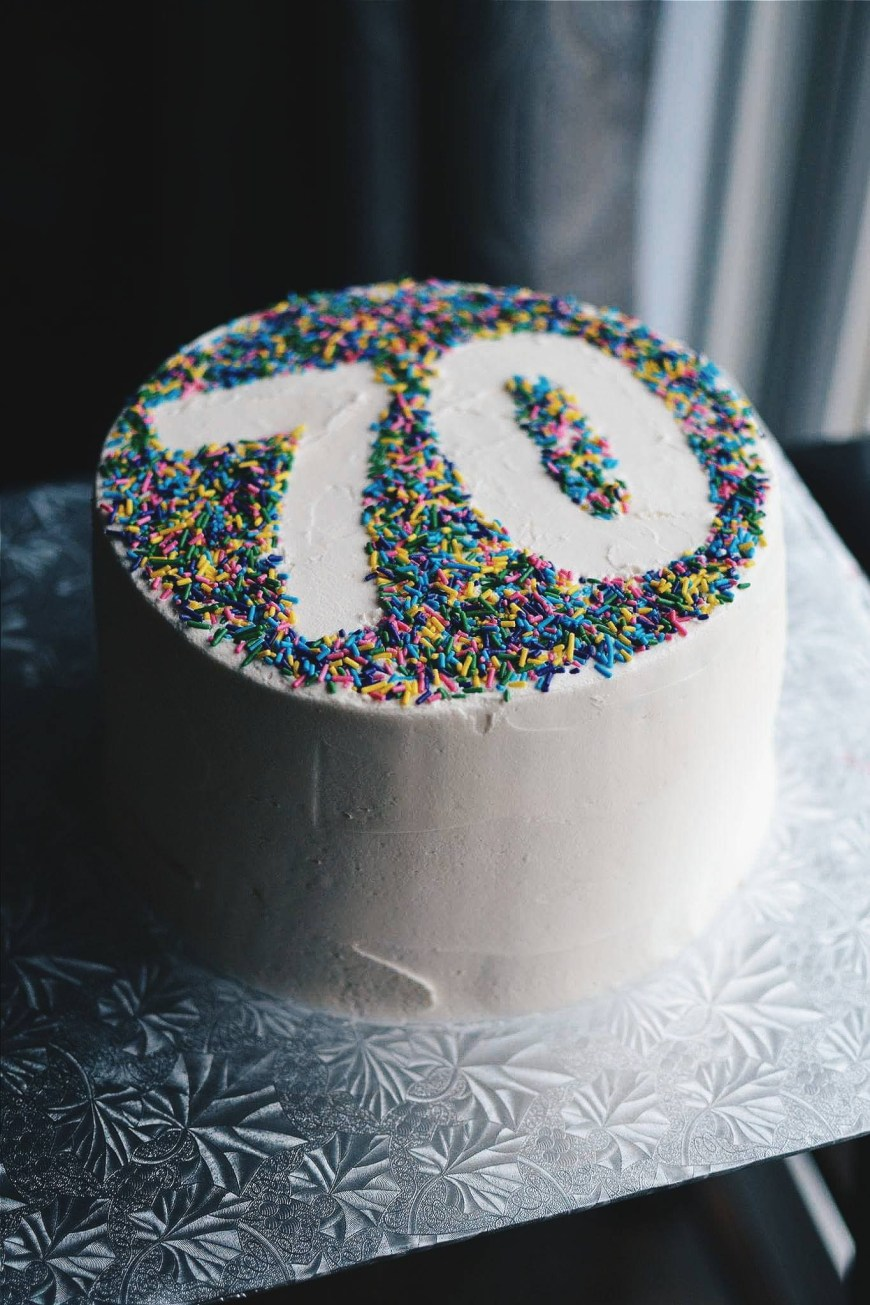 70Th Birthday Cake Ideas My Uncle John Celebrated His 70th Birthday This Past Week Meaning I