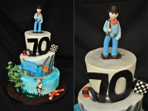 70Th Birthday Cakes 12 70th Birthday Cakes For Men Photo Man 70th Birthday Cake