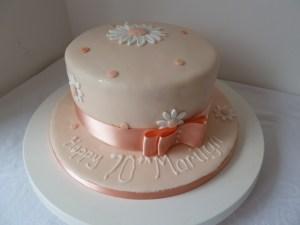 70Th Birthday Cakes 70th Birthday Cake Wedding Birthday Cakes From Maureens Kitchen