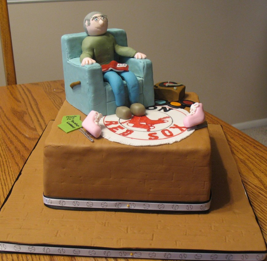 70Th Birthday Cakes Js Cakes 70th Birthday Cake