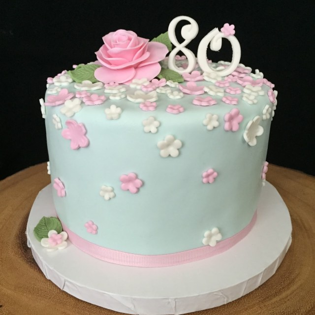 80Th Birthday Cake Ideas 80th Cakes
