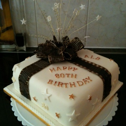 80Th Birthday Cake Ideas Black And Cream 80th Birthday Cake For Men 80th Birthday Cake