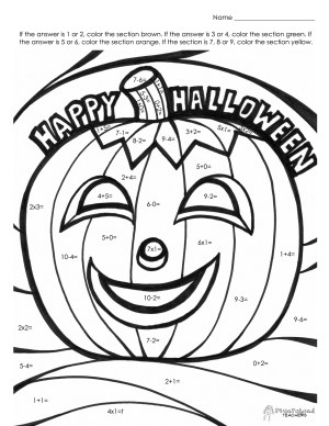 Addition Coloring Pages Addition Coloring Pages First Grade With 2nd Worksheets Valid For