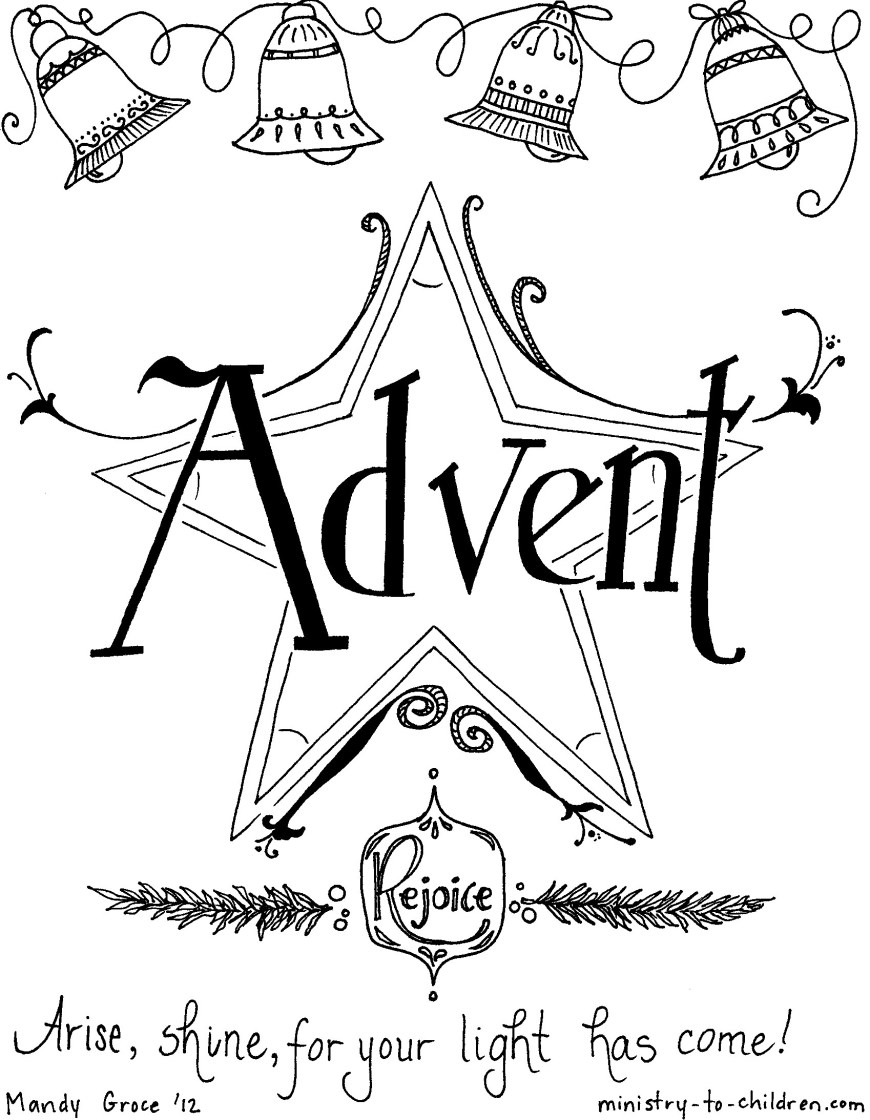 Advent Wreath Coloring Page Advent Wreath Coloring Pages Printable At Getdrawings Free For