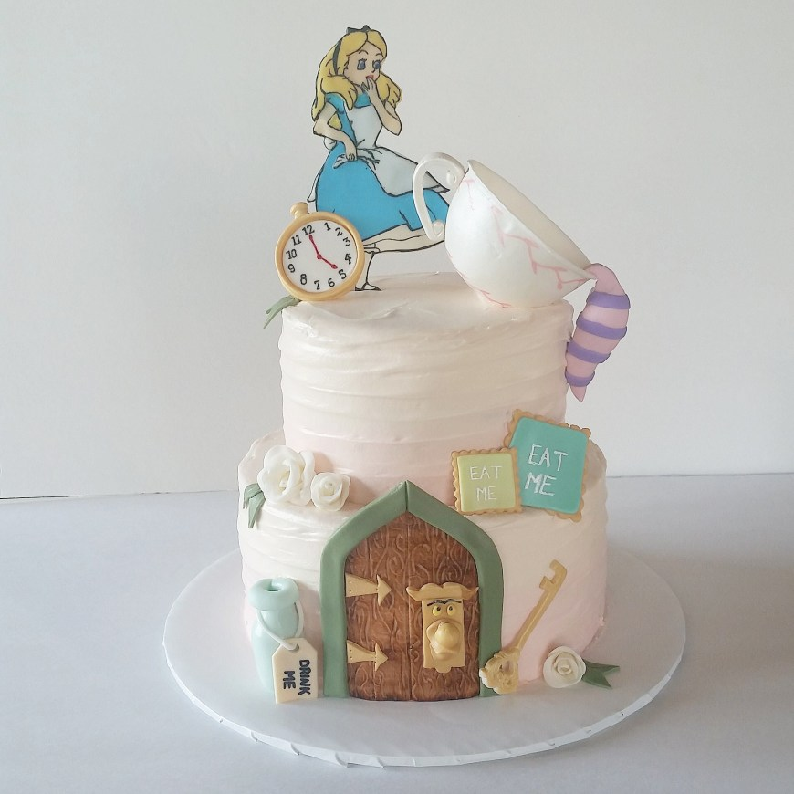 Alice In Wonderland Birthday Cake Alice In Wonderland Birthday Cake Greenslate
