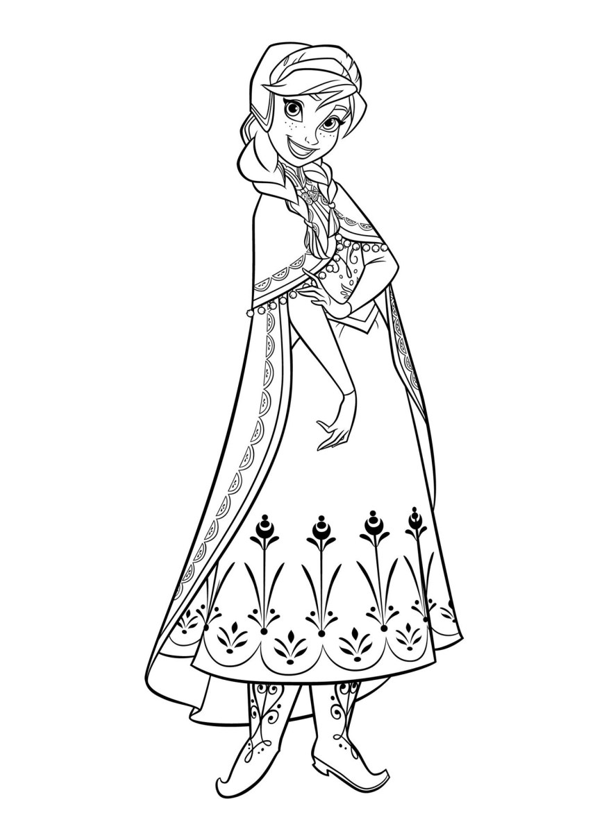 Amazing Coloring Pages Anna Coloring Pages For Kids Amazing Toys And Gifts You Can