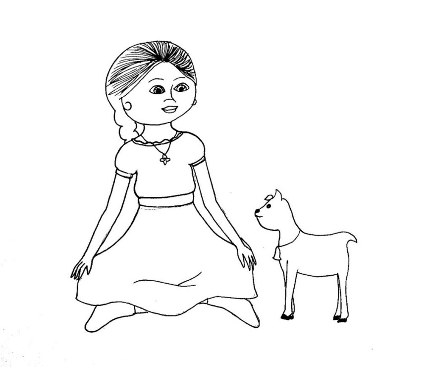 American Girl Doll Coloring Pages Coloring Pages Coloring Pages American Girl Doll Grace At