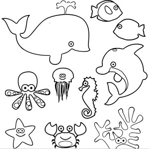 Animal Coloring Pages Sea Animals Coloring Page Wecoloringpage 03 Wecoloringpage