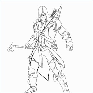 Assassin's Creed Coloring Pages Video Game Coloring Book Best Of Assassin S Creed 10 Video Games