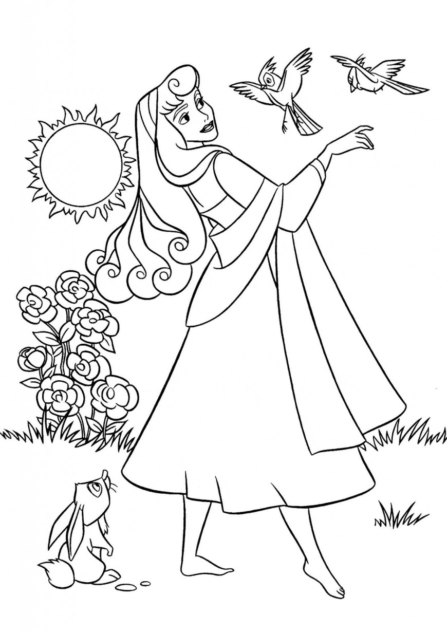 Aurora Coloring Pages Aurora Coloring Pages Disney Princess Coloring Pages Aurora From