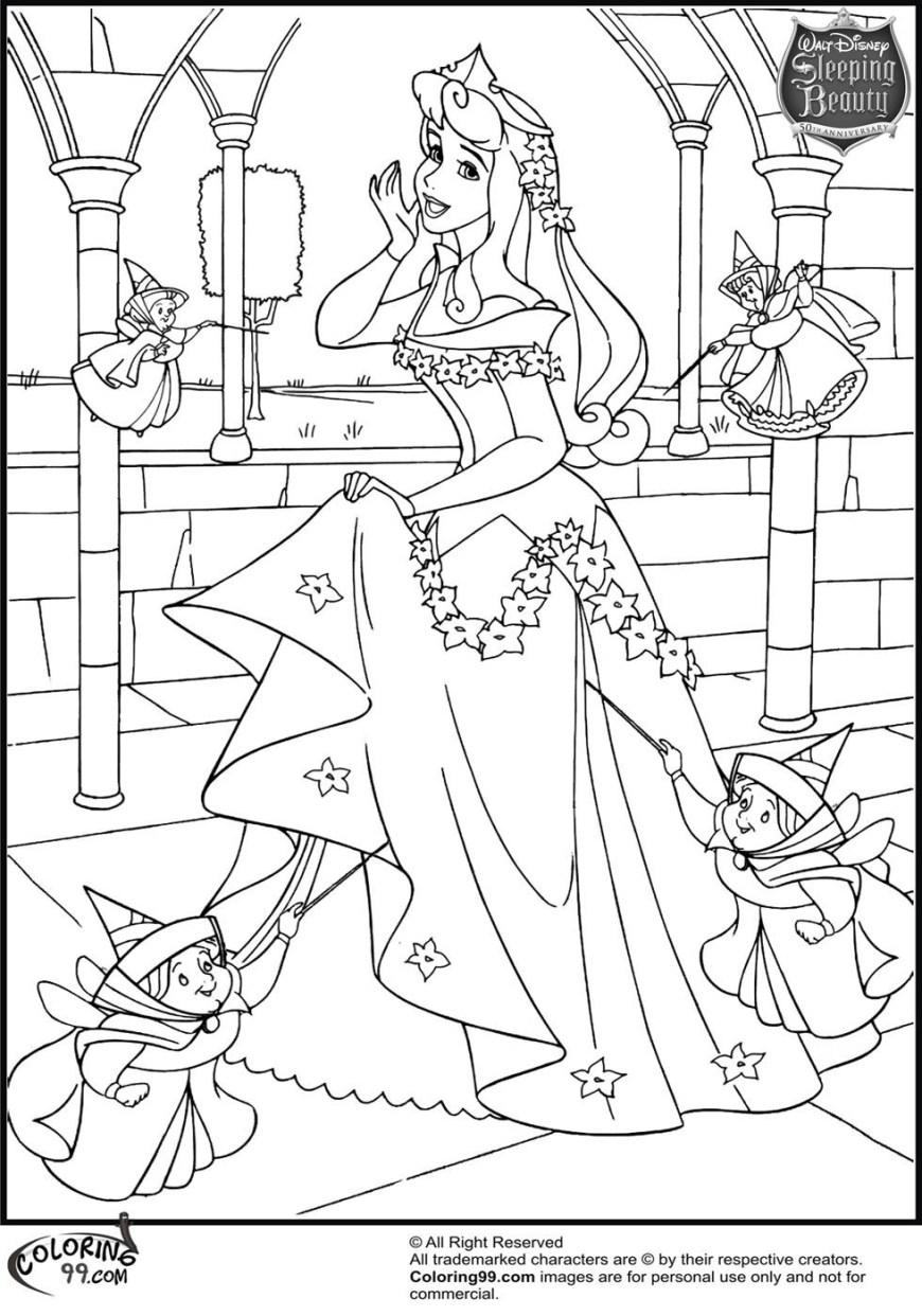Aurora Coloring Pages Aurora Coloring Pages With 18 Disney Princess Aurora Coloring Pages